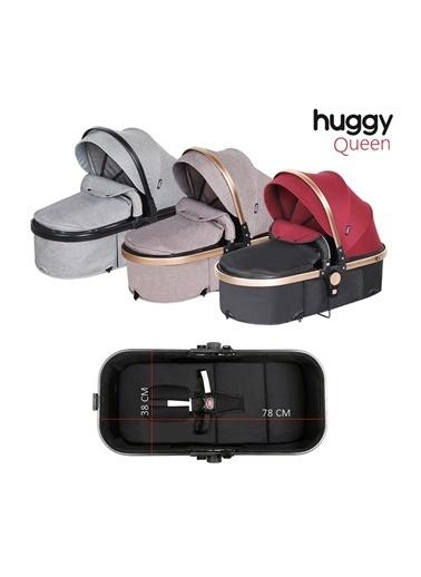 Huggy Huggy Queen 3 İn 1 Travel Sistem Bebek Arabası Kahve